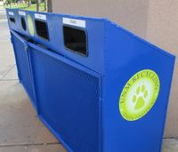 Recycle bins receive facelift