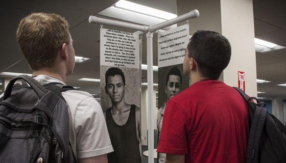 Immigrants exhibit