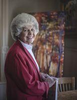 Karen Abraham in Hodgin Hall