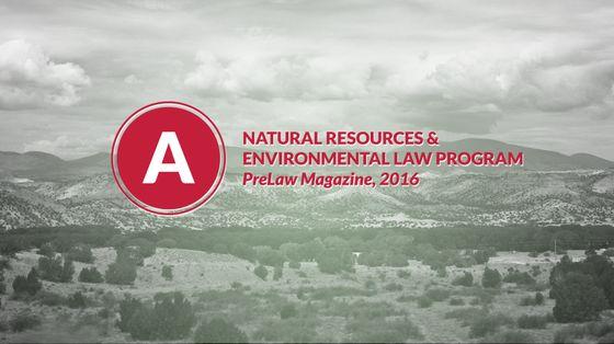 Natural Resources & Environmental Law Program