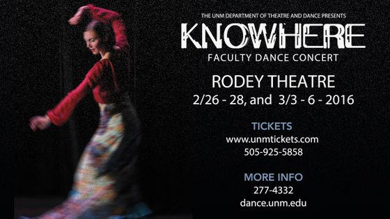 'Knowhere' Faculty Dance Concert