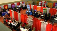 More than 90 employers participated in the Career Expo 2016
