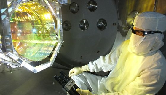 Inspecting LIGO's optics