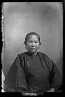Portrait of a Chinese Woman, 1885-1886, Socorro, New Mexico; Glass negative, Joseph E. Smith (reproduction) Courtesy of The Palace of the Governors Photo Archives