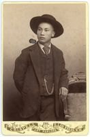 Lee Chin C. 1885, Las Vegas, New Mexico; Cabinet Card, Albumen Print, Crispen Art Parlor (reproduction) Courtesy of the Palace of the Governors Photo Archive