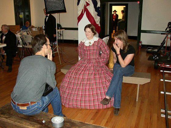 Michelle Martin in costume