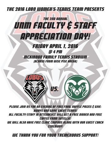UNM Faculty & Staff Appreciation Day