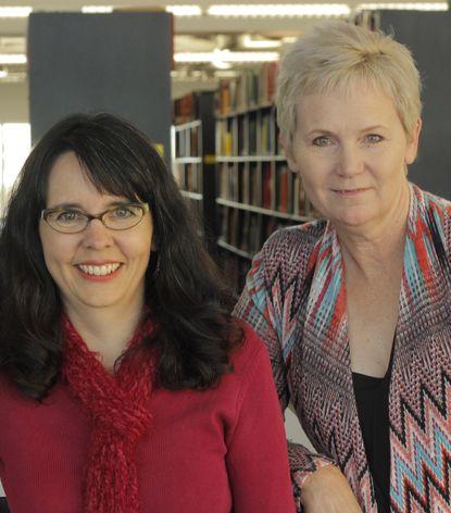 Rebecca Sanchez and Denise Hinson