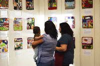 Gallery of arpillera-inspired artwork