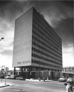 Simms Building in Albuquerque, 1955.