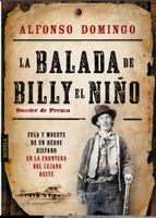 The cover of Domingo's book La Balada de Billy el Nino