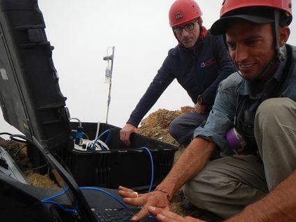 Researchers study phreatic volcanoes