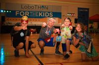 Kyle Stepp and others at the LoboTHON Dance Marathon