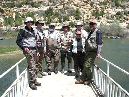 UNM-LA fishing class
