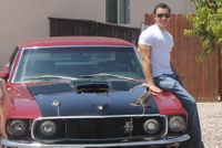 Sean Kerwin and his Mustang