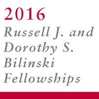 2016 Bilinski Fellowship