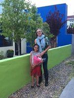 Meyer and her daughter Kaya