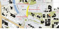 North campus closure map
