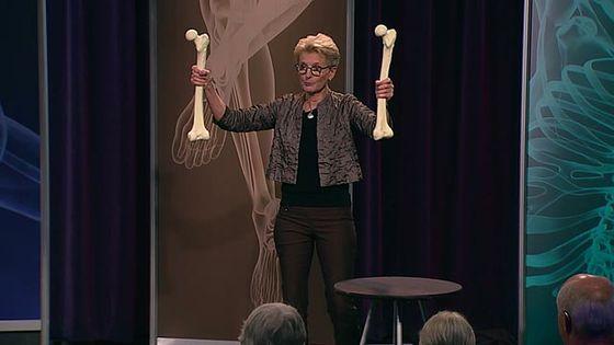 Stronger bones with skeleton