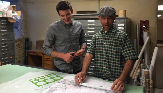 Graduate students design signage for trails
