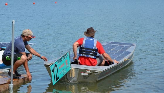 Solar Boat ready to compete