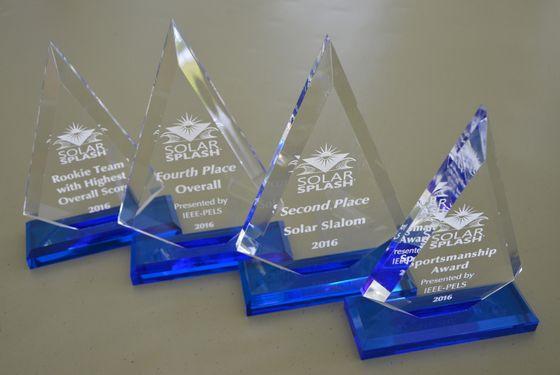 UNM Solar Splash Awards