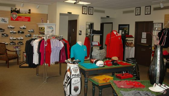 Pro shop at The Championship Golf Course