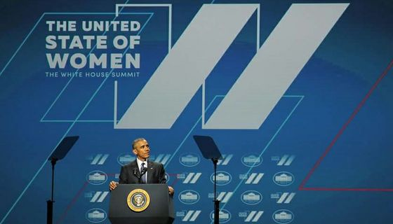 President Obama at the United State of Women Summit