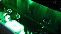 Dust in a Laser Beam