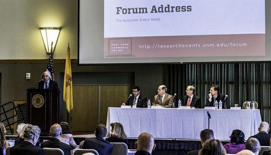 Secretary Moniz delivers his Forum address