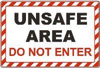 Unsafe-area-do-not-enter