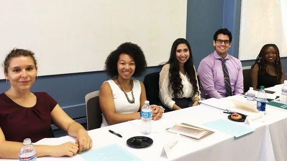 UNM Students at UCLA