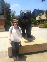 Hallie and the Bruin