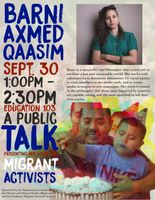 Axmed Qaasim Lecture
