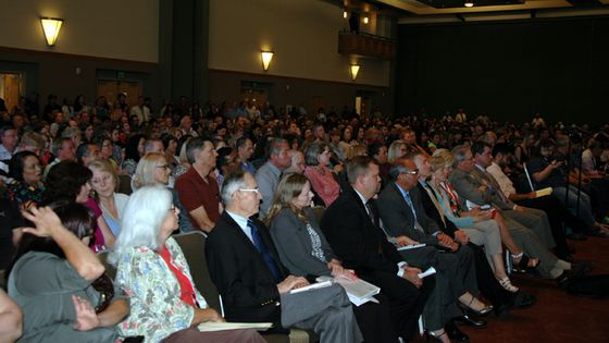 Town Hall Crowd