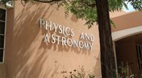Physics & Astronomy Sign