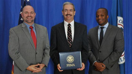 FEMA graduate Byron Piatt