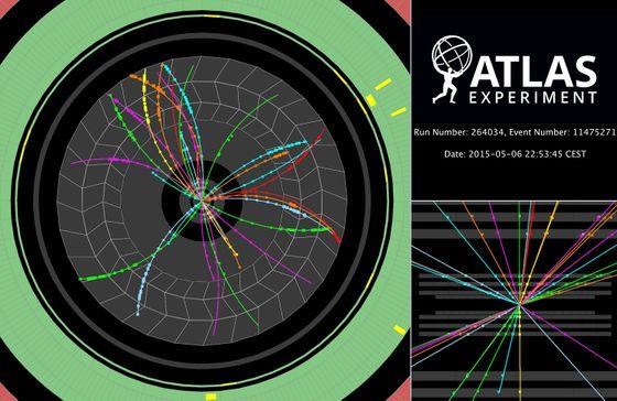 Atlas Proton-Proton Event