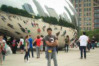 Yasir visiting Chicago