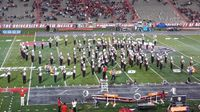 UNM Spirit Marching Band performs