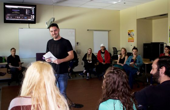 Instructor Aaron Smith