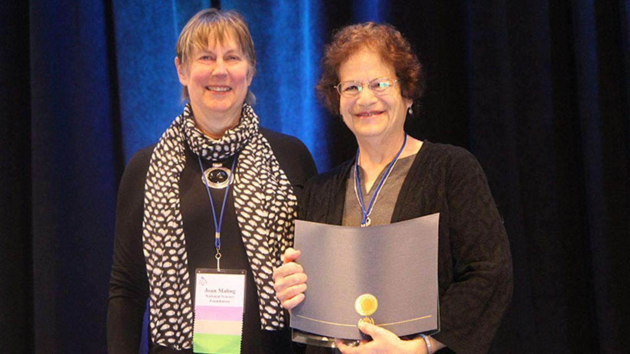 UNM professor receives prestigious honor