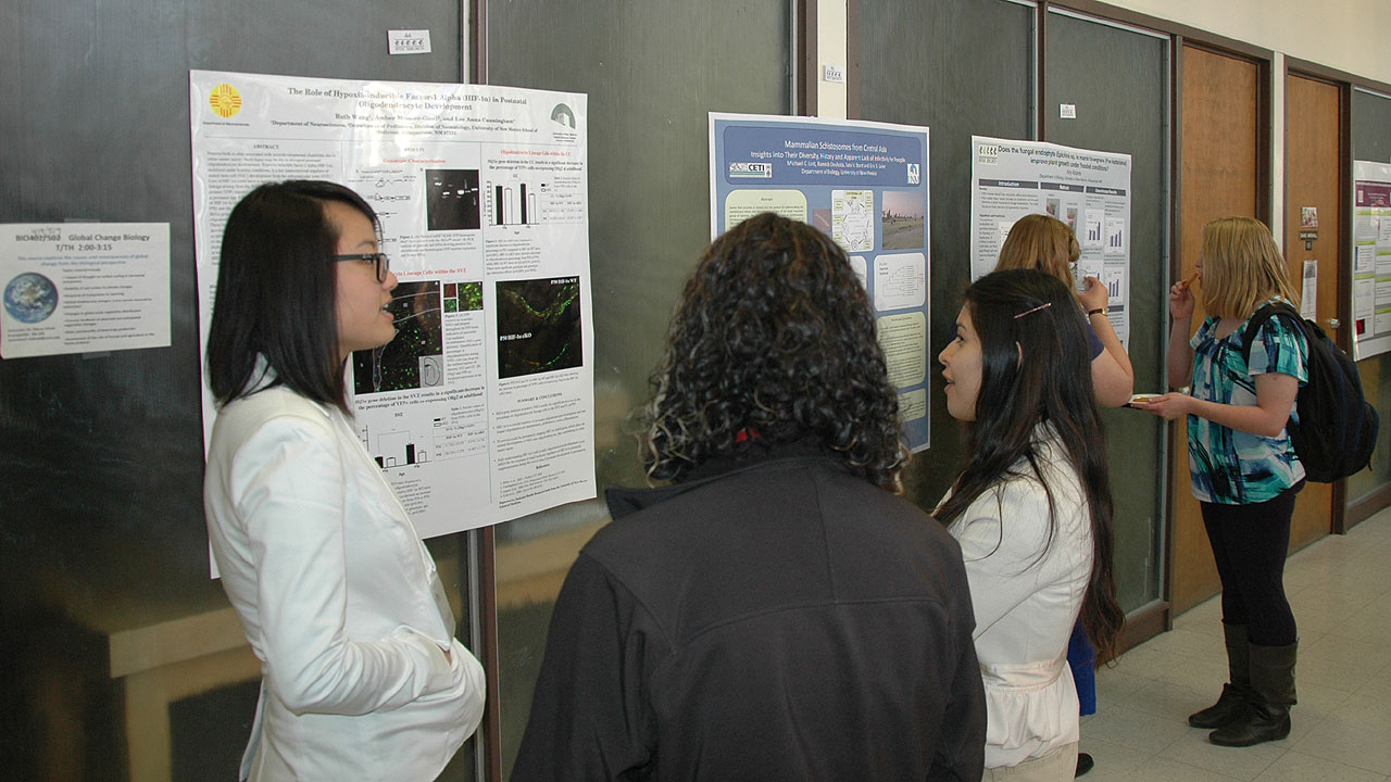 UNM Biology Department hosts 27th annual Research Days and Open House