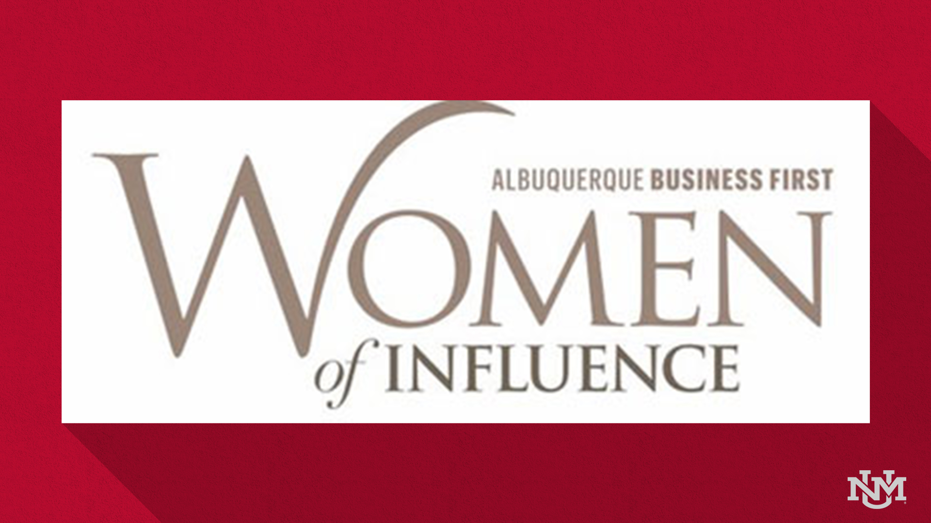 Five UNM staff members honored as 'Women of Influence'