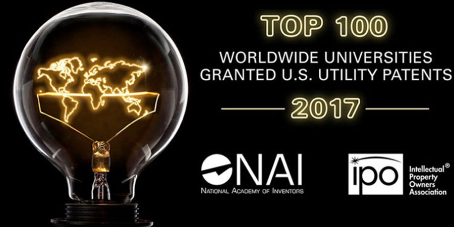 UNM among Top 100 Worldwide Universities granted U.S. utility patents