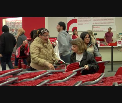 Target Black Friday B-Roll