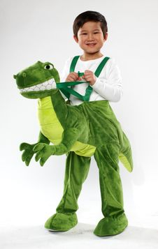 Toddler Dinosaur Costume - $30
