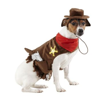 Sherriff Pet Costume - $9