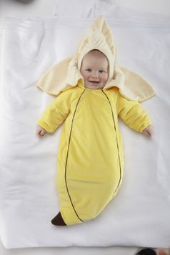 Infant Banana Costume - $14