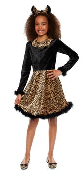 Girls' Leopard Costume - $30